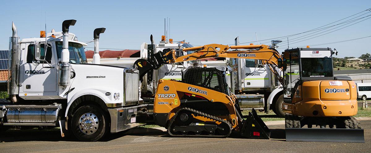 PCP-Civil-Fleet-Skid-Steer-Excavator-Truck-Plant-Hire-Brisbane-10