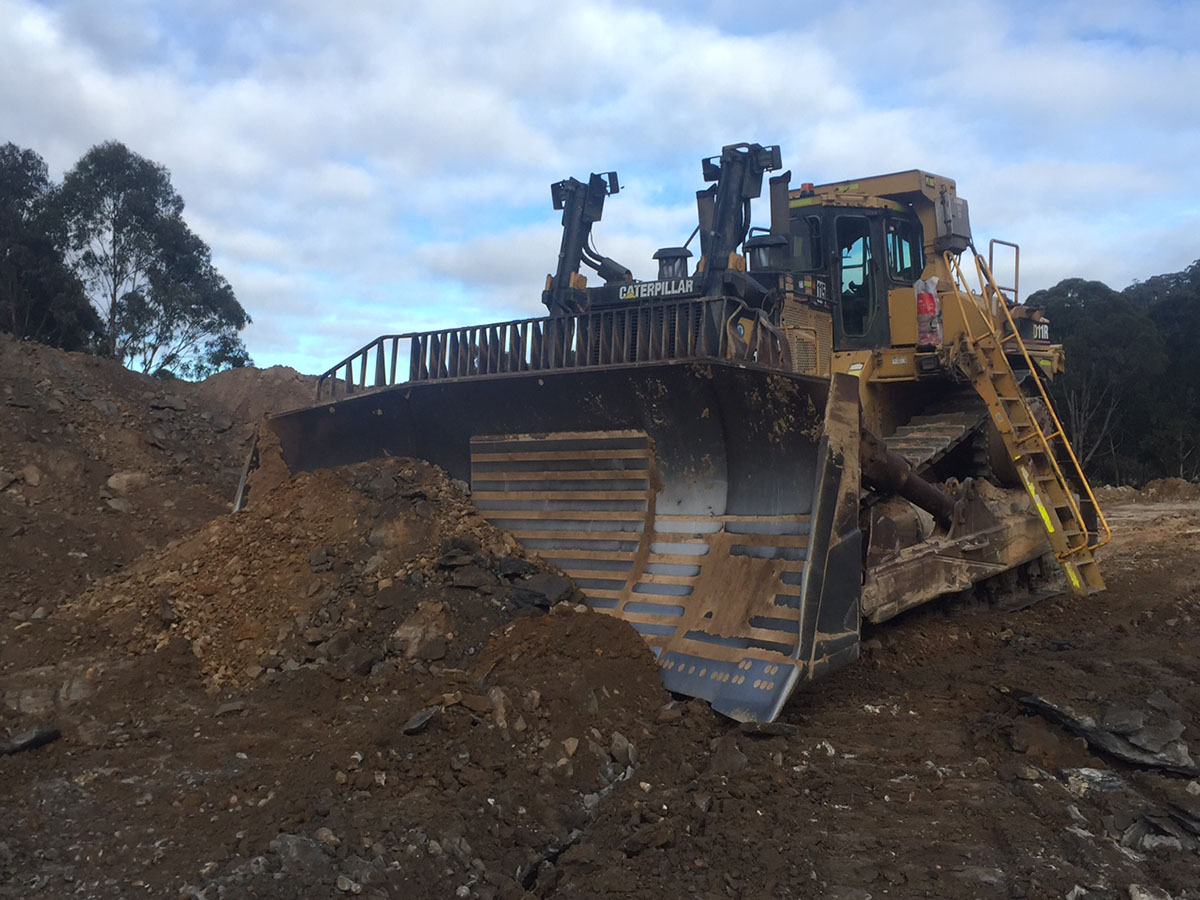 Peters Earthmoving Cat Dozer