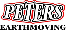 Peters earthmoving logo