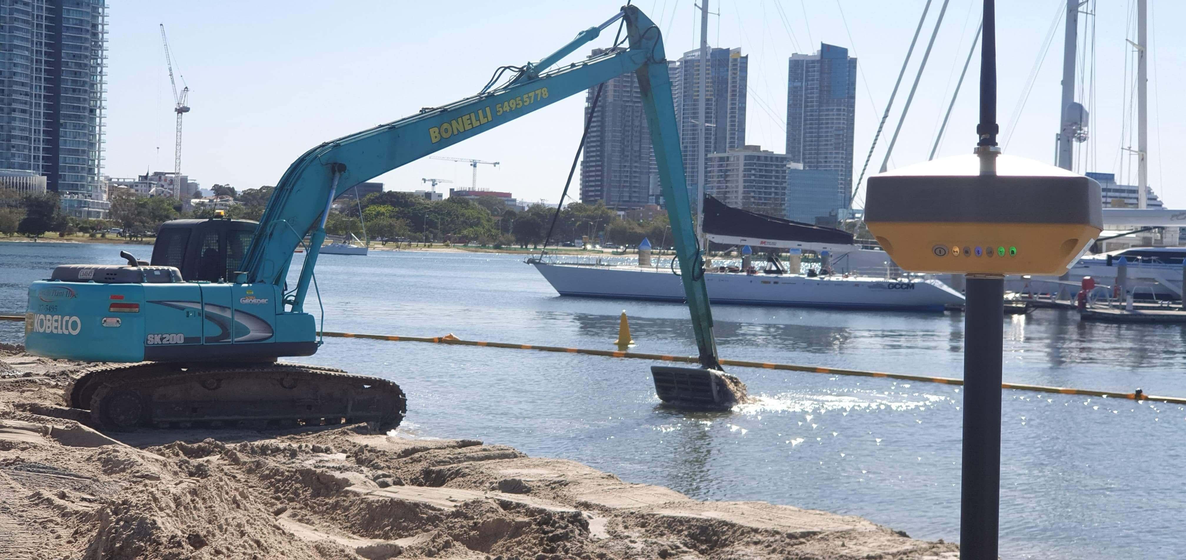 Sheroz-Earthworks-excavator-kobelco-service-ute-topcon gps for sale asutralia-topcon gx60-topcon gps excavator-topcon 2d