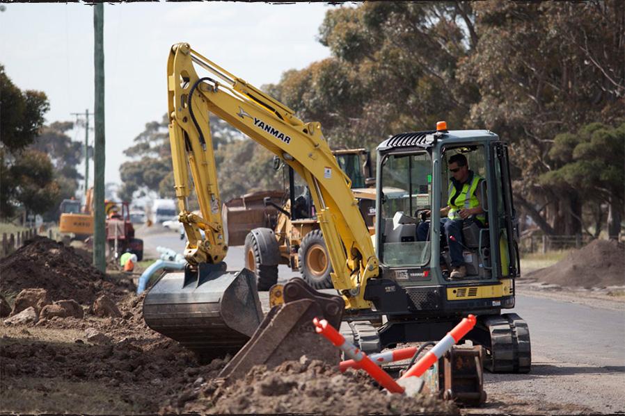 Proquip excavator1734