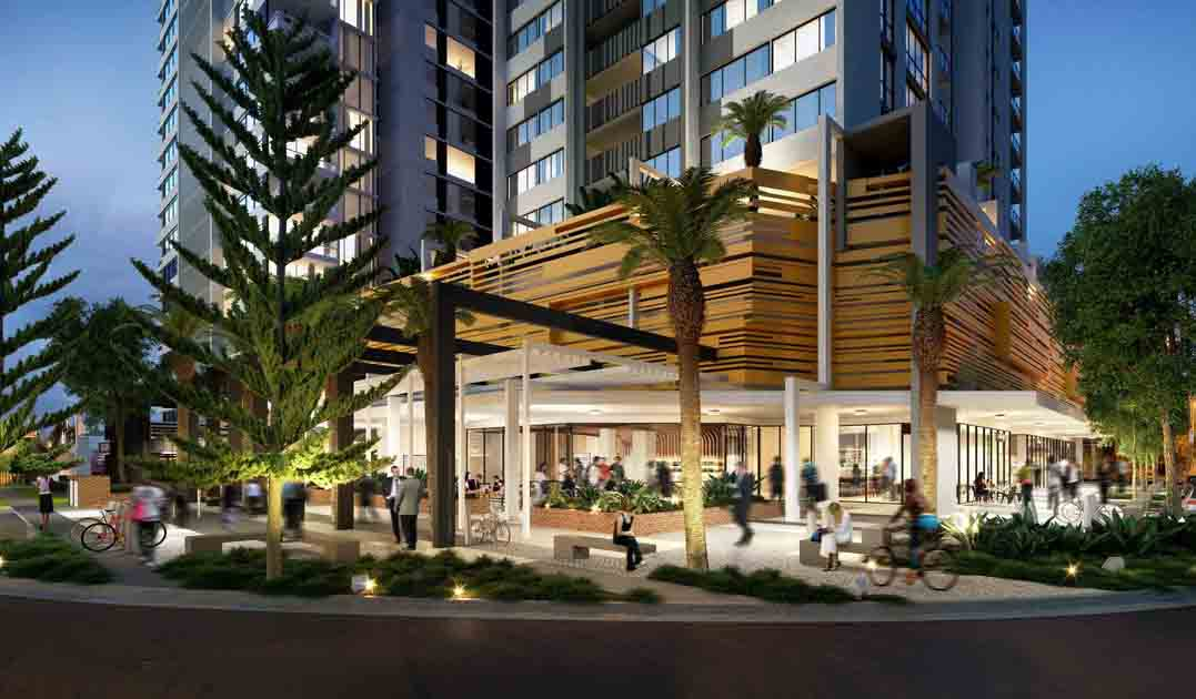 Qube Residential Property Project Broad Beach Morris Property Group, Amalgamated Property Group and CBRE