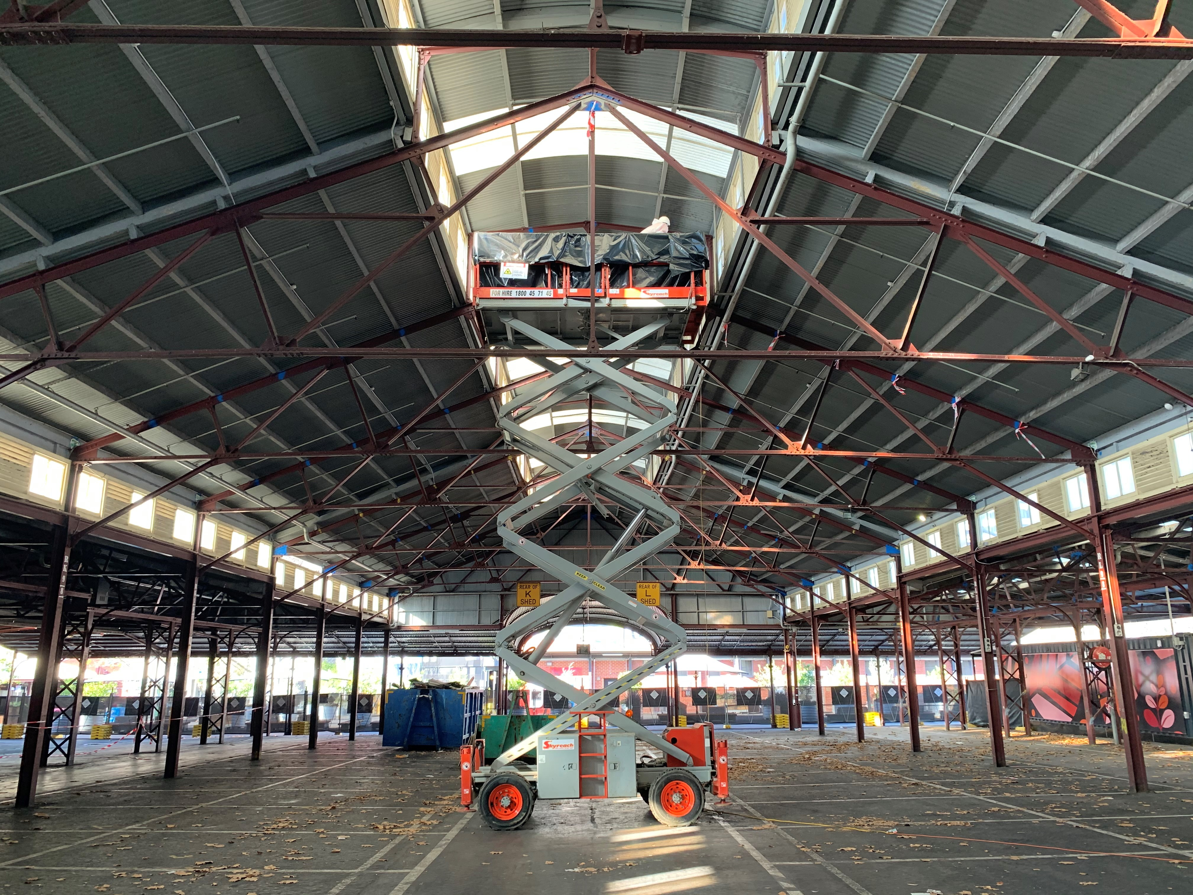 Queen Victoria Market – Lead Paint Removal