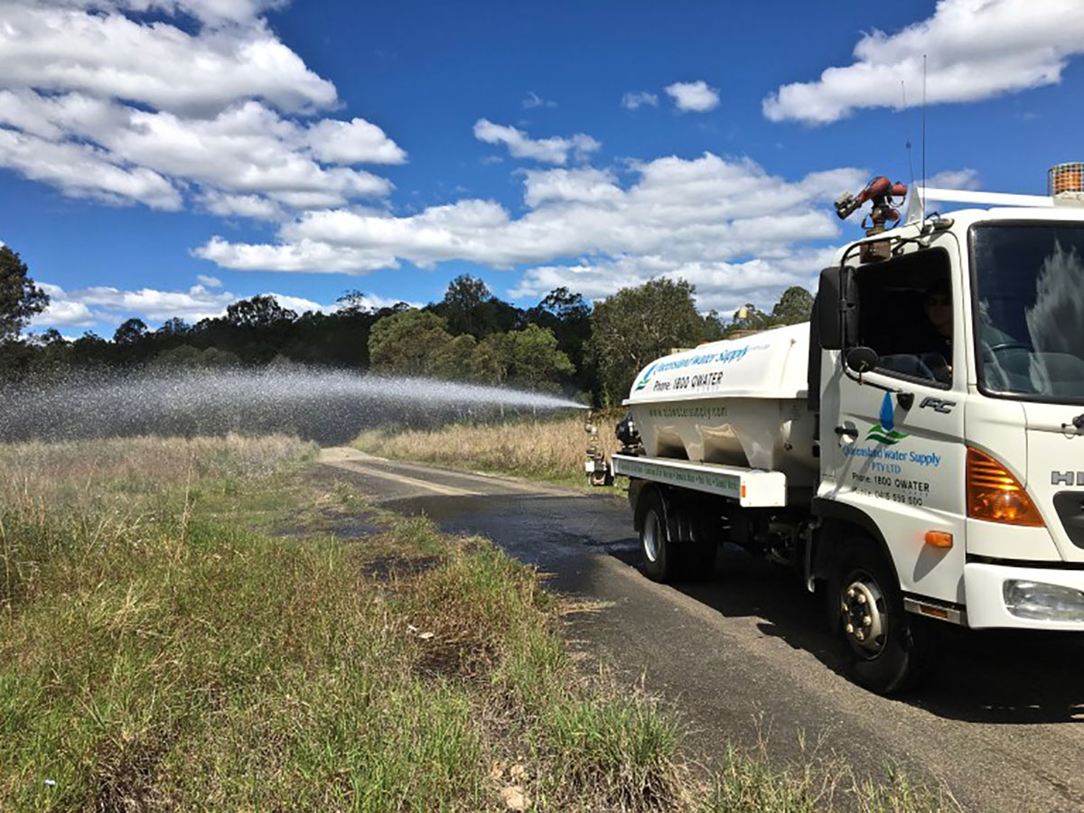 Queensland Water Supply - Water Truck for Hire in Brisbane