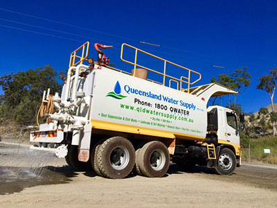 Queensland Water Supply Gold Coast water truck hire