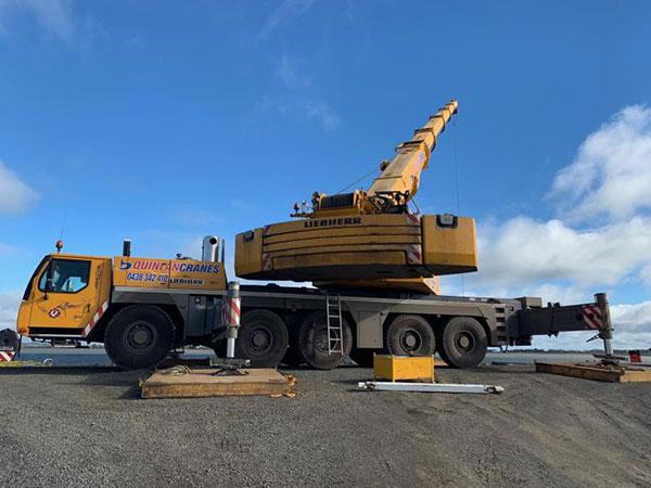 Quinlan-Cranes-mobile-crane-truck-liebherr-on-site-rough-terrain-crane-hire-melbourne