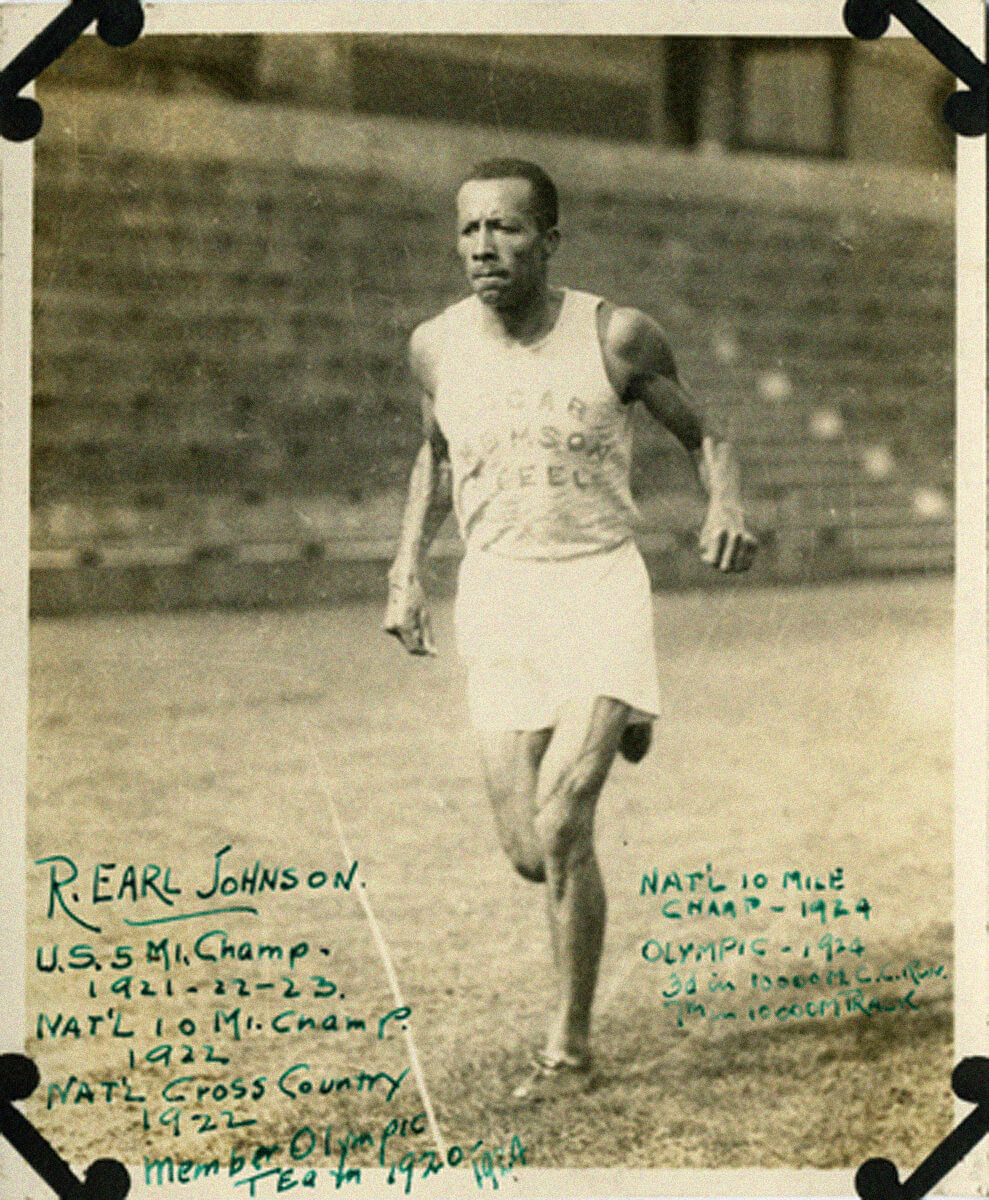 Robert Earl Johnson olympian
