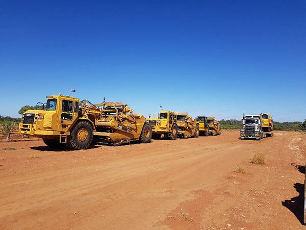 Radeski-Earthmoving-Webster-fleet-Hay