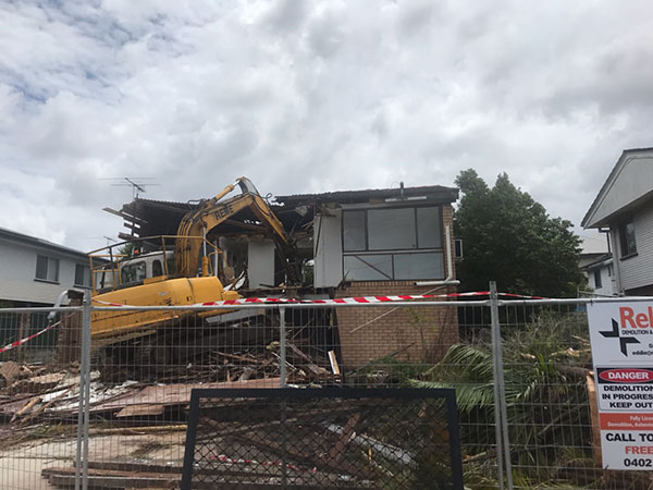 Relient-Civil-Group-house-demolish-Brisbane