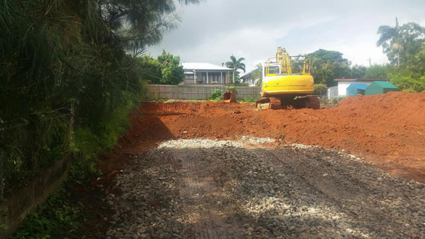 Relient-Civil-kubota-excavator-bulk-earthworks-Brisbane