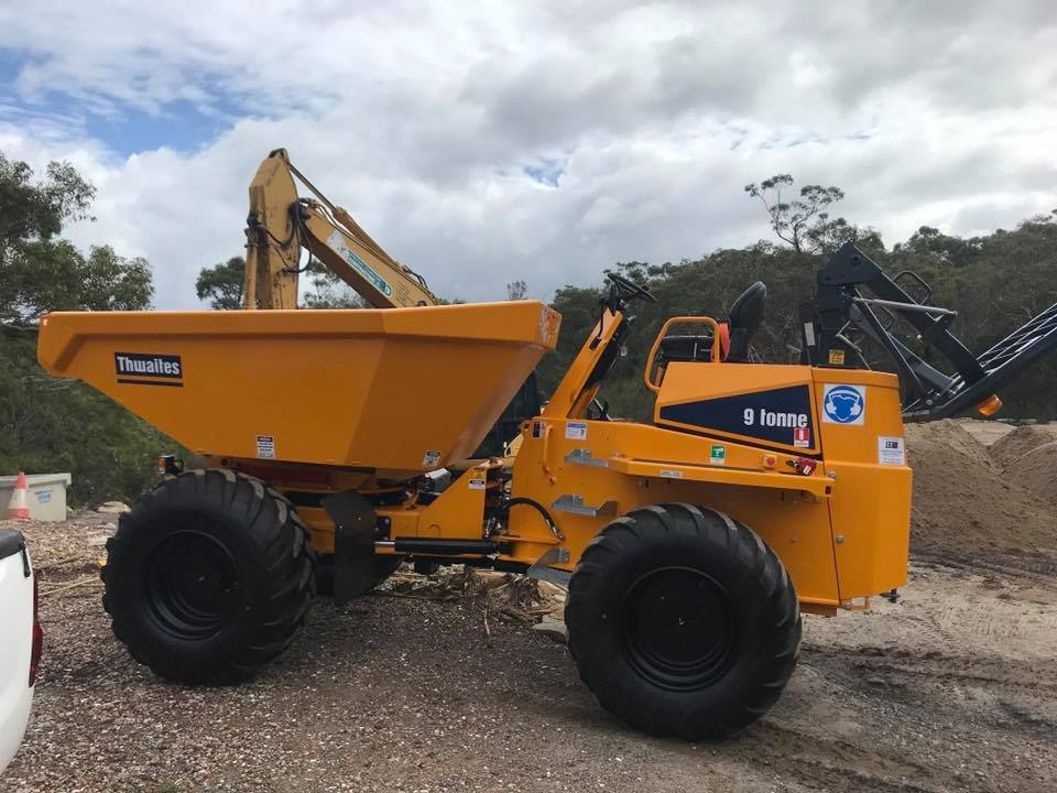 Rick Davis Contracting Articulated Dump Truck Hire Sydney