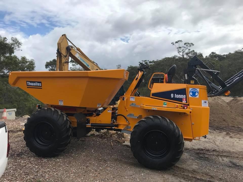 Rick Davis Contracting Articulated Dump Truck Hire Sydney