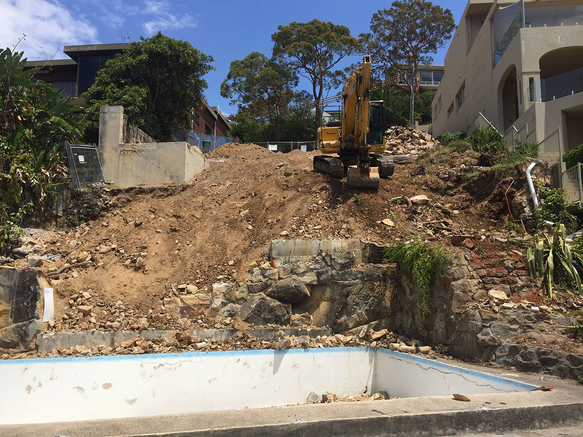 Rick-Davis-Contracting-Demolition-Site-Sydney