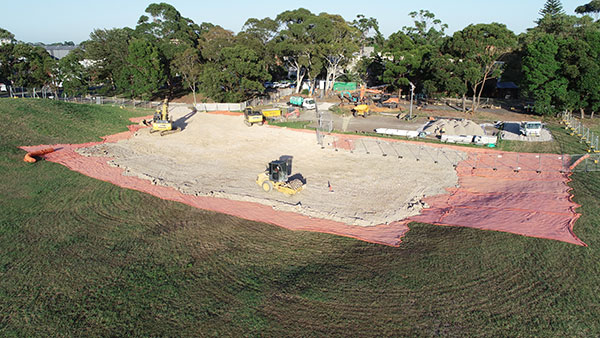 Rick-Davis-Contracting-Site-Construction-with-Padfoot-Roller-Sydney