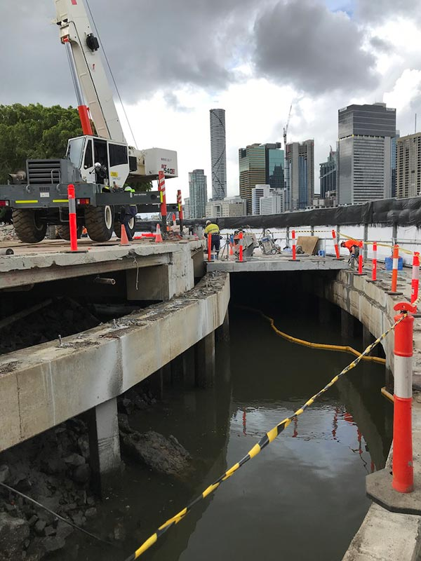 Roelandts-Group-Bridge-Demolition-Brisbane