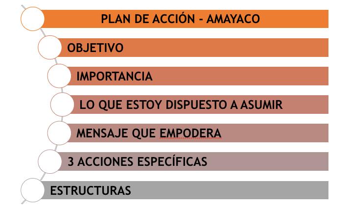 plan de acción - Amayaco