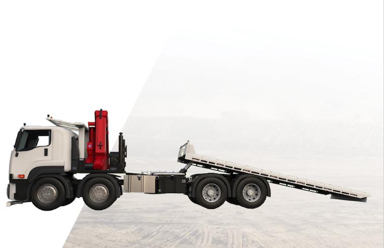 STG Global Tilt Tray Trucks for Sale