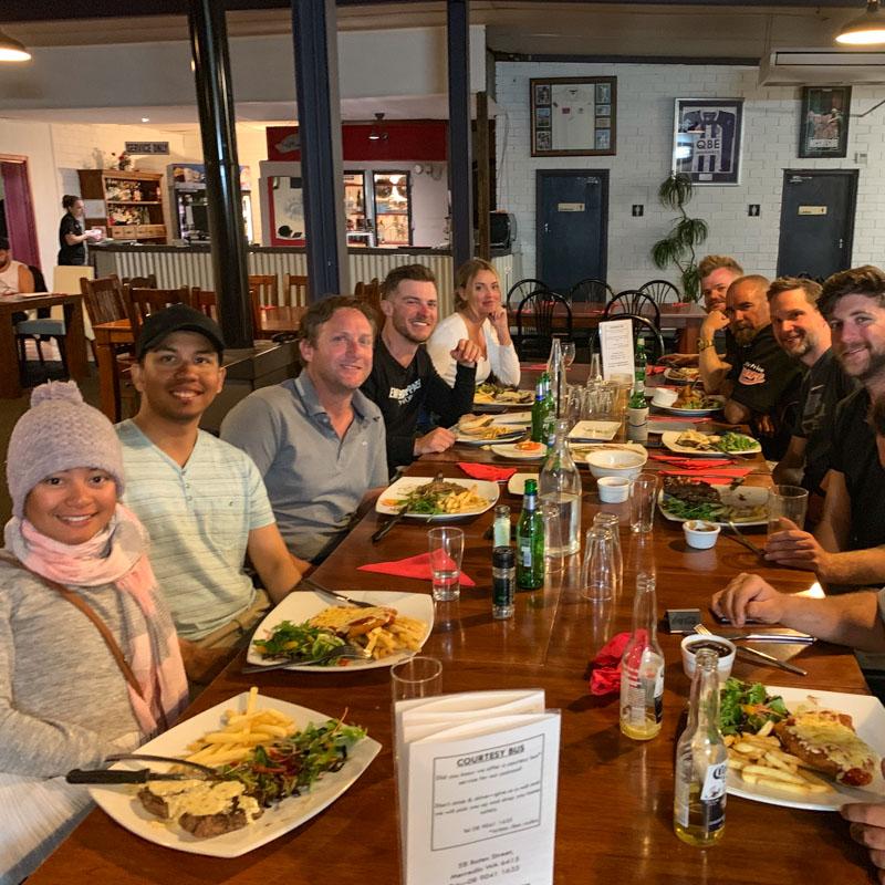 Sequentia Services team dinner