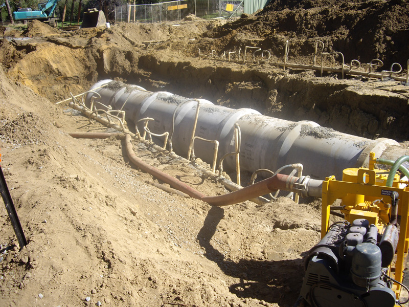Pipeline Technics Sewerage Overflow Storage Tank