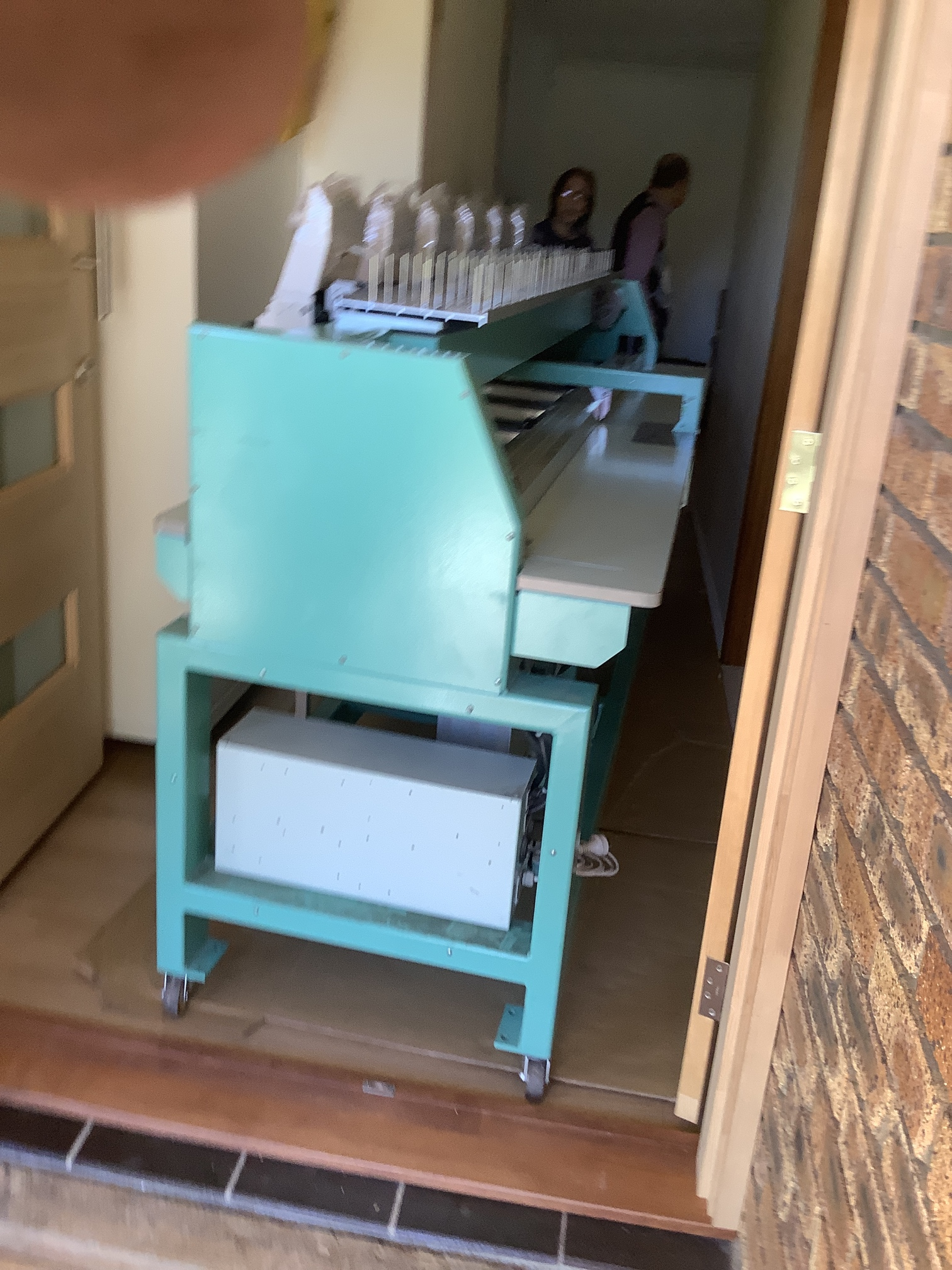 Sewing machine unloaded