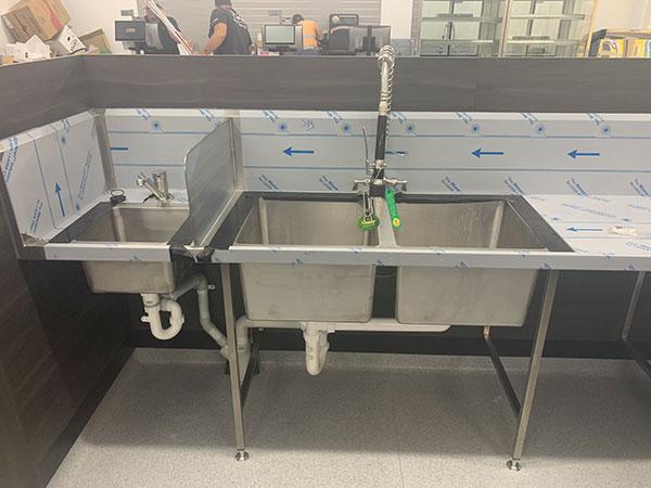 WJS sink replacement Brisbane North