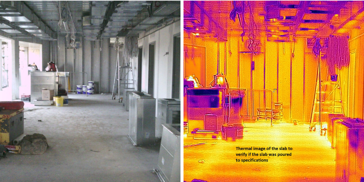 Slab Thermal Imaging