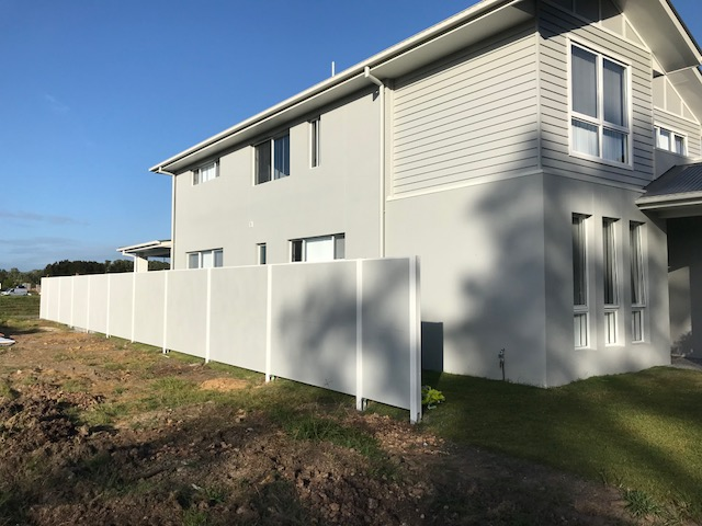 Hoys Slimwall Fence Gold Coast