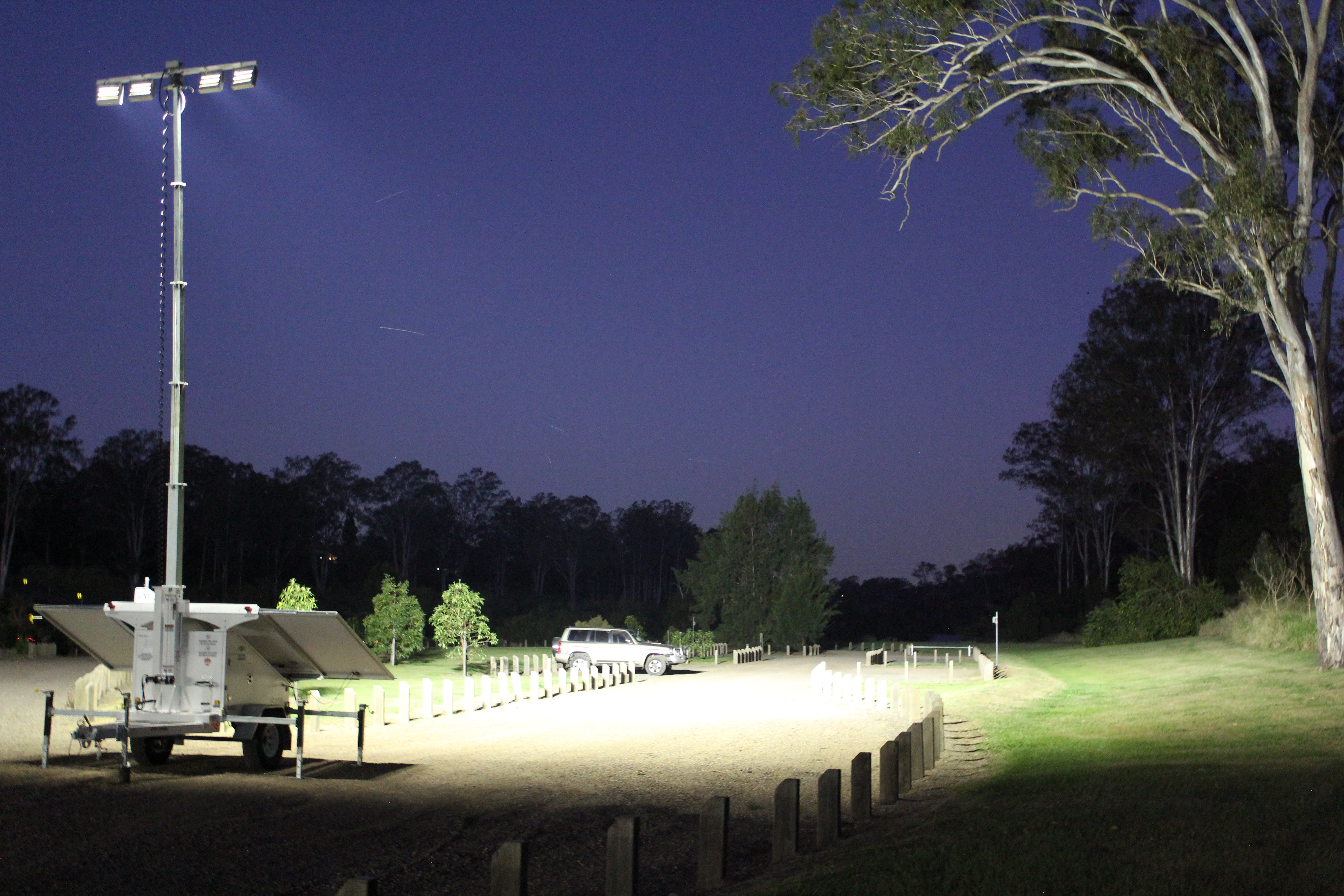 Site Light Rentals Mobile Light Trailer Hire Sunshine Coast