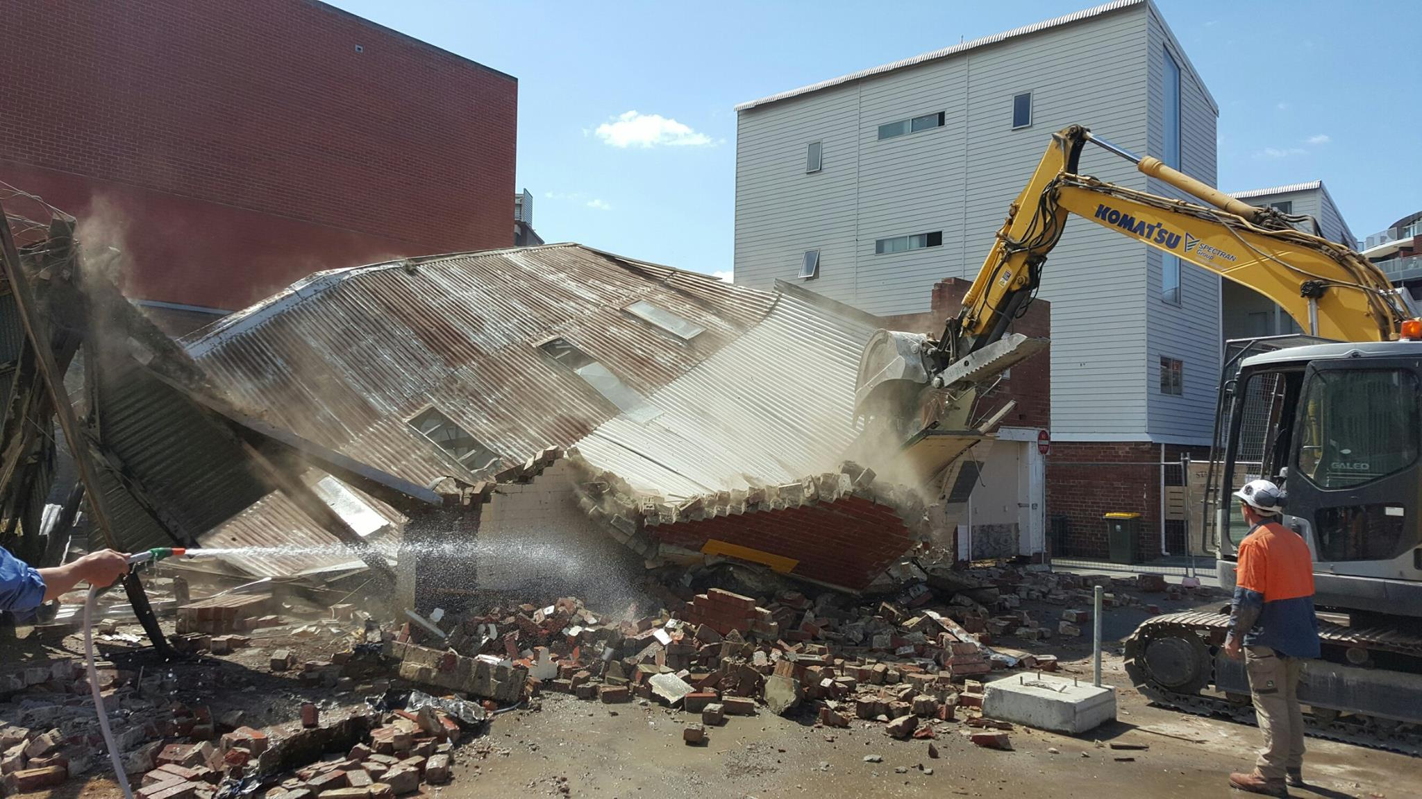 Spectran Group Building Demolition Hobart