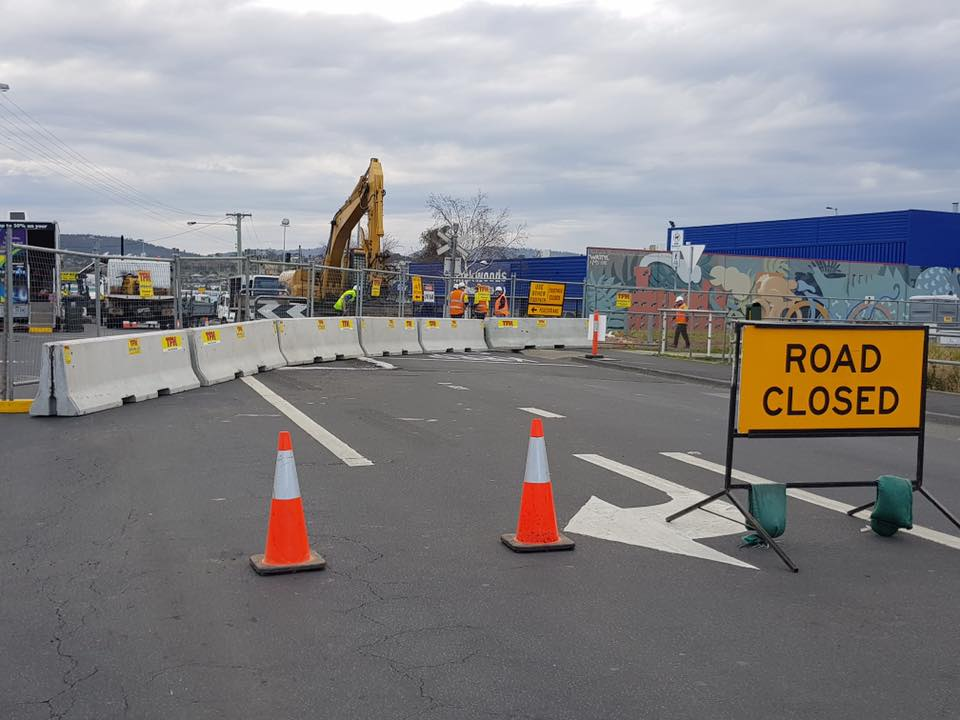Spectran Group Derwent Park Roadworks Hobart