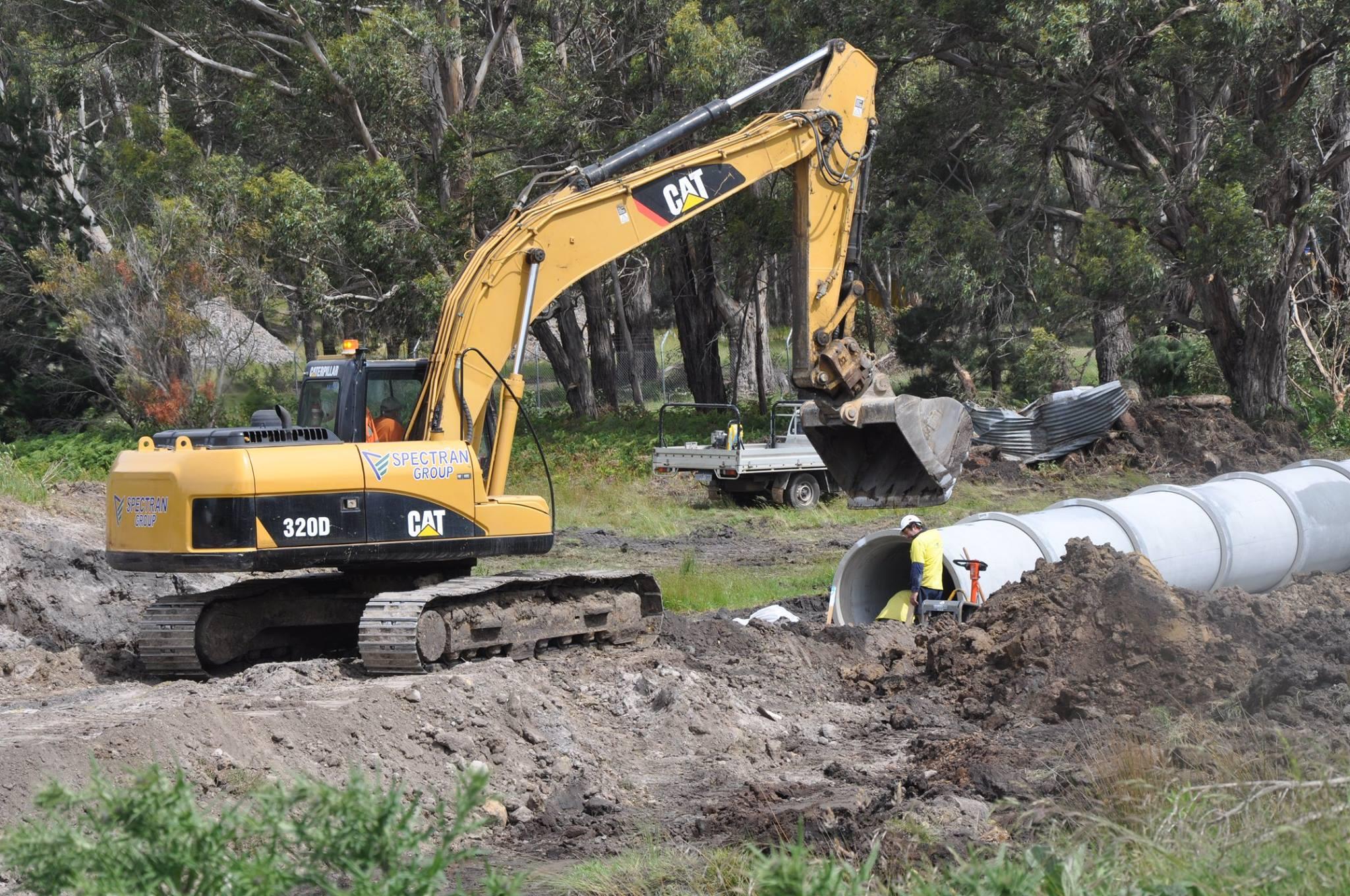 Spectran Group Pipeline Works Hobart