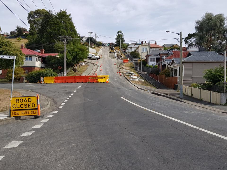 Spectran Group Roadworks Hobart