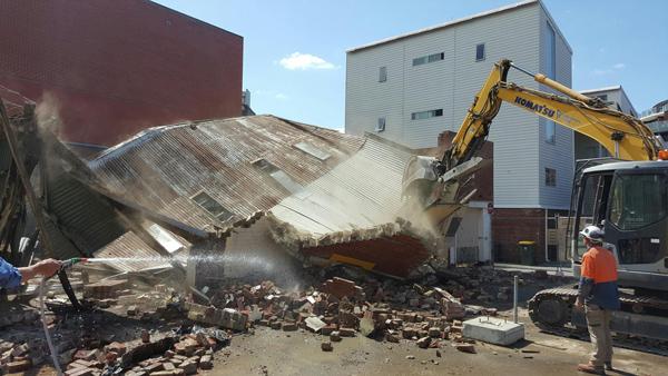 Spectran Group Building Demolition Hobart