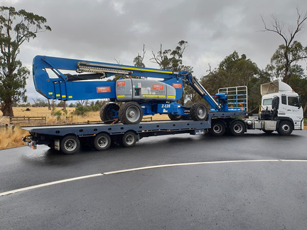 Spectran-Group-Cherry-Picker-heavy-haulage-Hobart