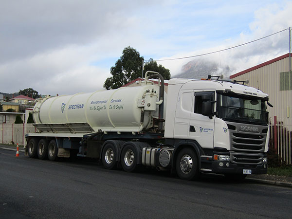 Spectran-Group-Liquid-Waste-Truck-Hobart