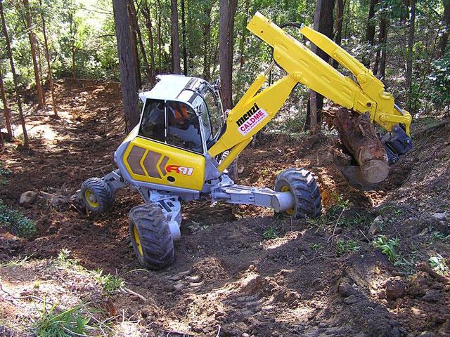 Caldme Excavations - menzi spider excavator