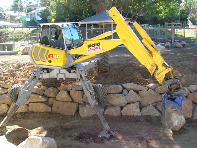 Caldme Excavations - equipment hire