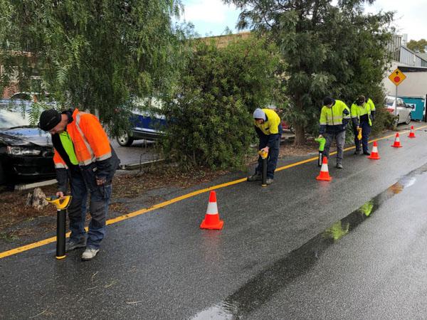 Practical roadside location training