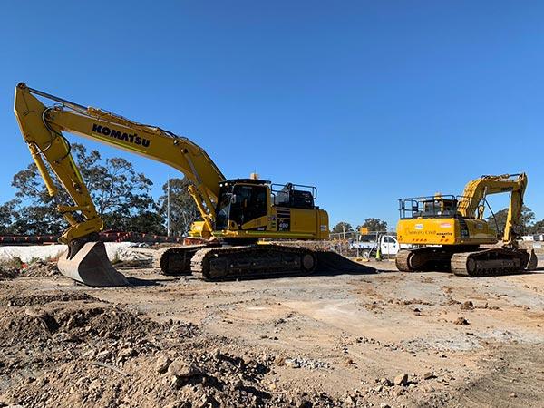 SubTerra-Bulk Excavation Services Excavators Onsite Sydney