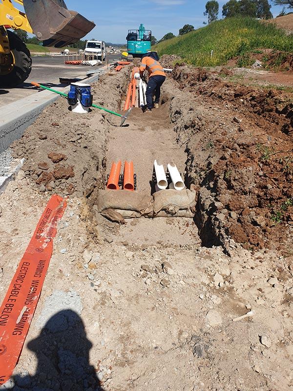 SubTerra-Bulk Excavation Services Excavator-On-Site-5-Sydney