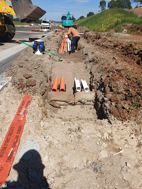 SubTerra Drainage Installation - Schofields Road Stage 3 - BMD