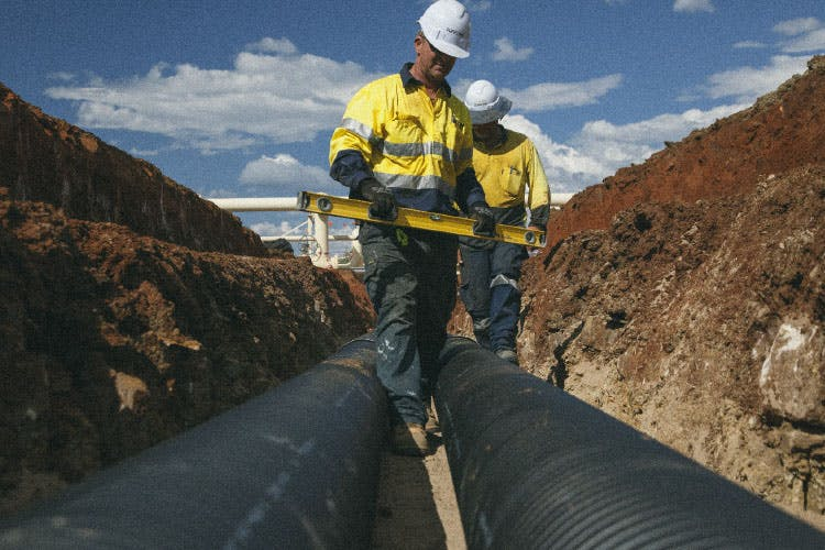 Suffren Contacting - pipe laying services