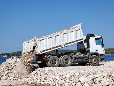 Suffren Contracting tipper hire