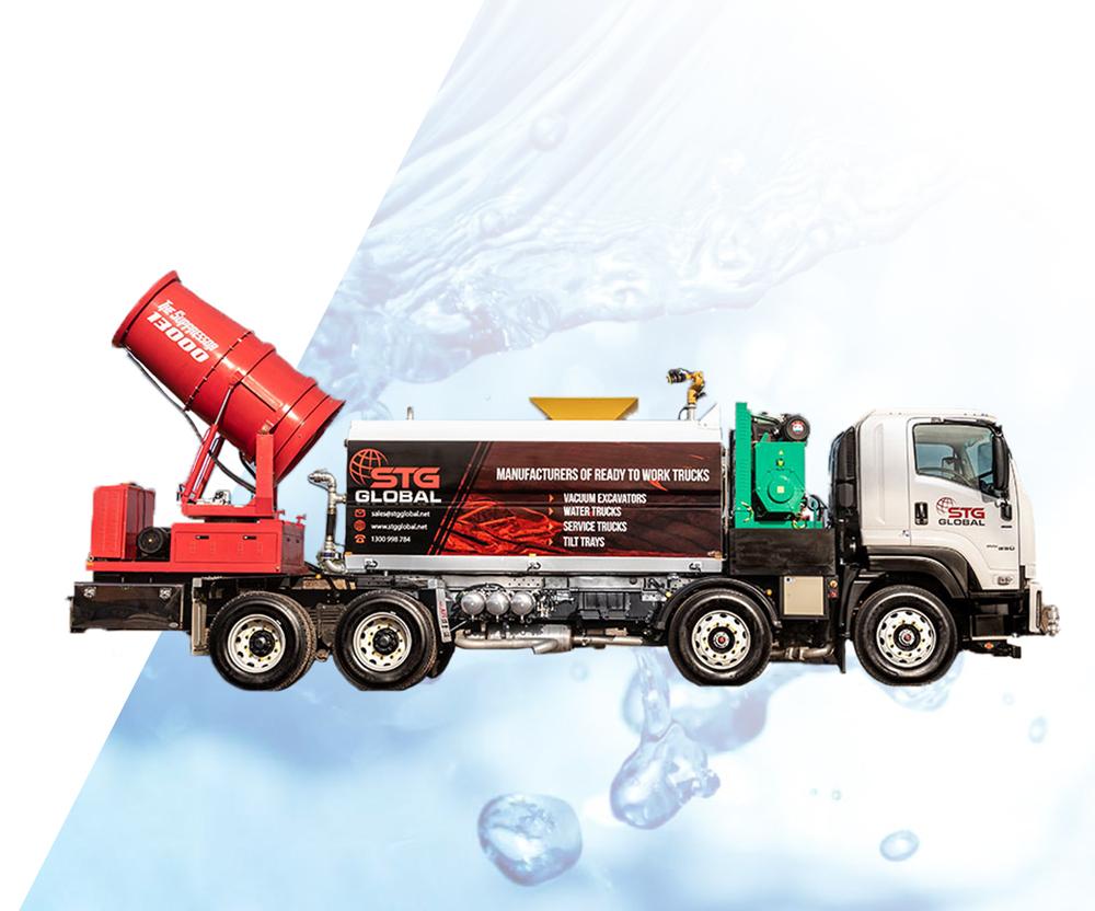STG Global 13000L The Suppressor Trucks for sale