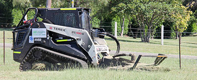 TEREX tracked loader and multi-purpose all-terrain vehicle