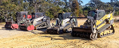 Plant hire to suit all your land clearing and excavation needs