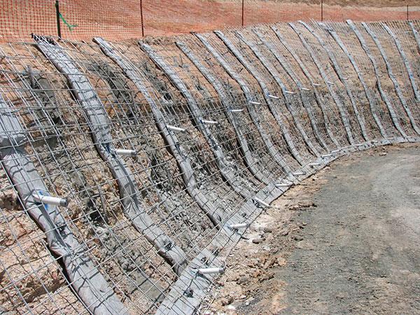 TEAM-Rock-Anchors-Shotcrete---Retaining-Wall---Unsprayed---Hold-Down-Anchor-Queensland