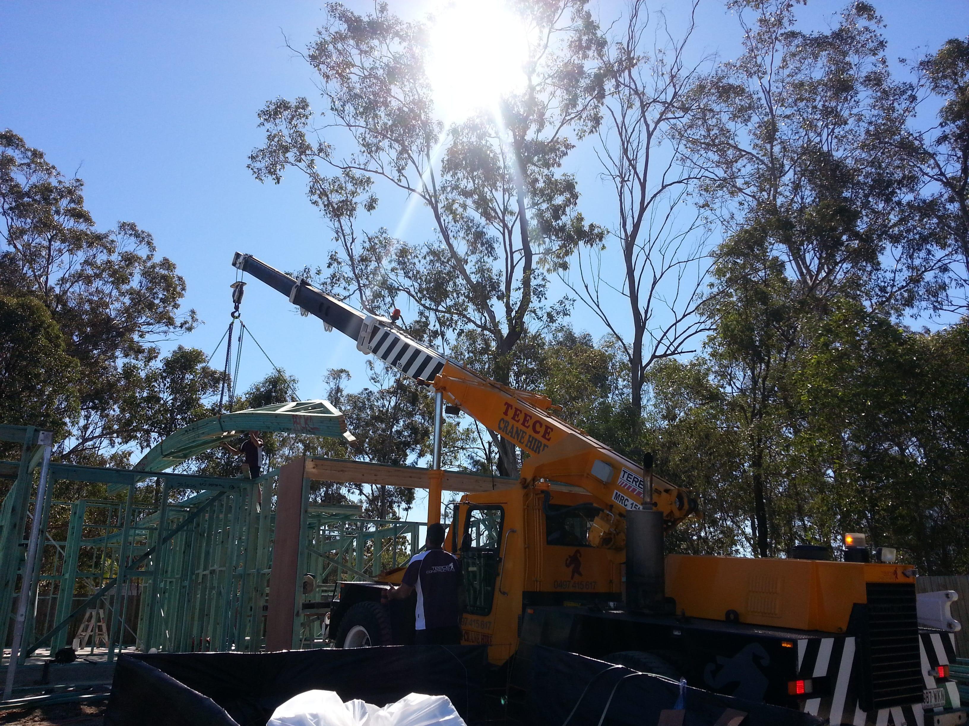 Teece Crane Hire - Franna And Mobile Crane - Brisbane