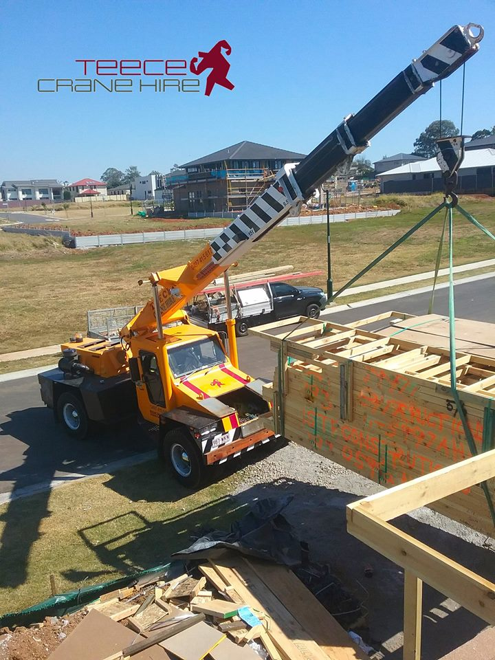 Teece Crane Hire - Lift And Shift Franna And Mobile Crane Rental - Brisbane