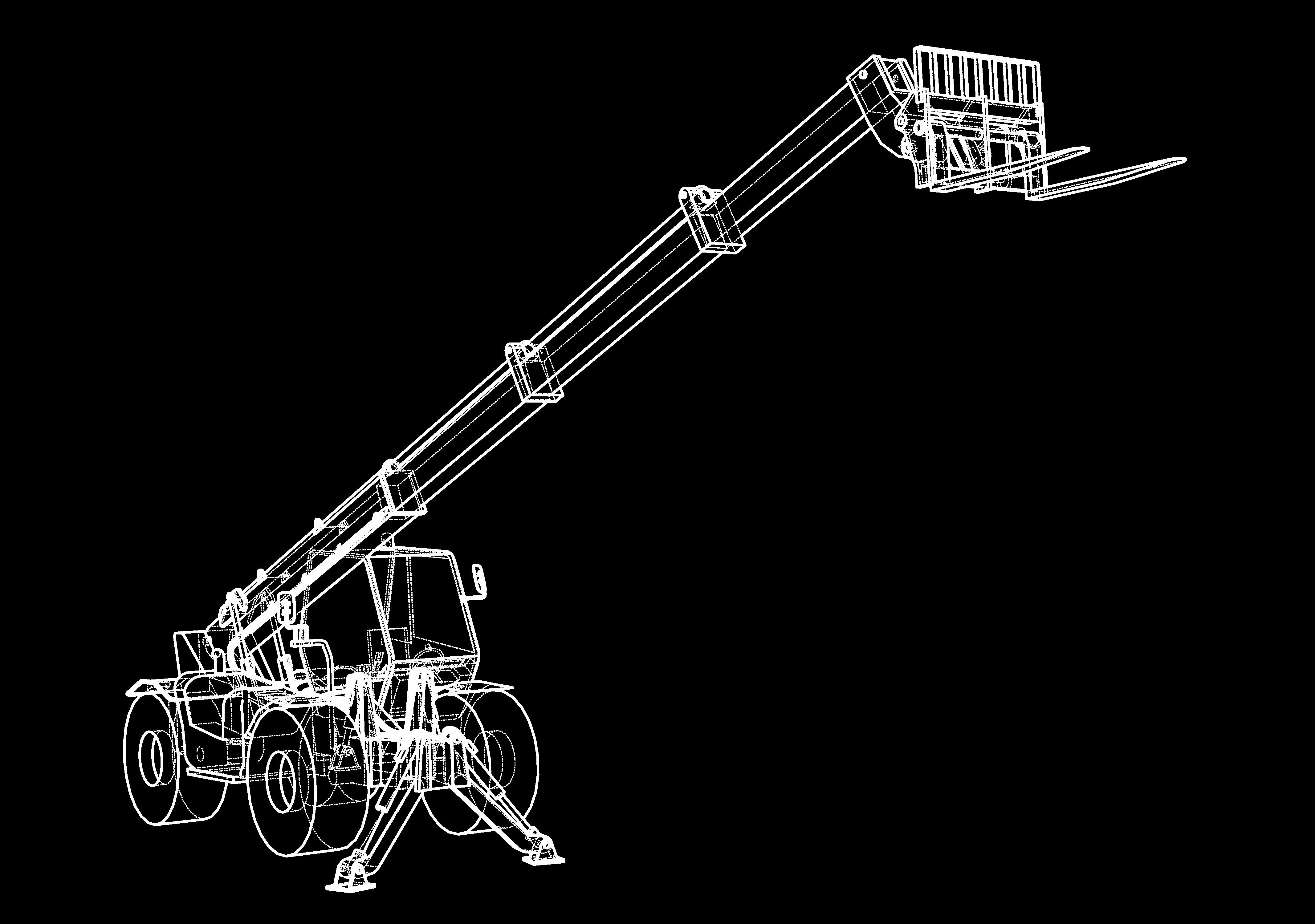 Telehandler-Icon-White